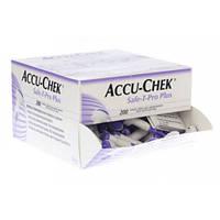 Система для прокалывания Акку-Чек Сейф-Т-Про ПЛЮС (Accu-Chek Safe-T-Pro Plus), 200 шт., Roche Diagnostics Gmbh, Германия