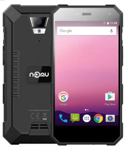 Защищенный противоударный неубиваемый смартфон Nomu S10 Pro - IP68, MTK6737T, 3/32 GB, 5000 mAh