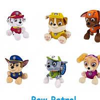 Мягкие игрушки Paw Patrol Щенячий патруль (поштучно)