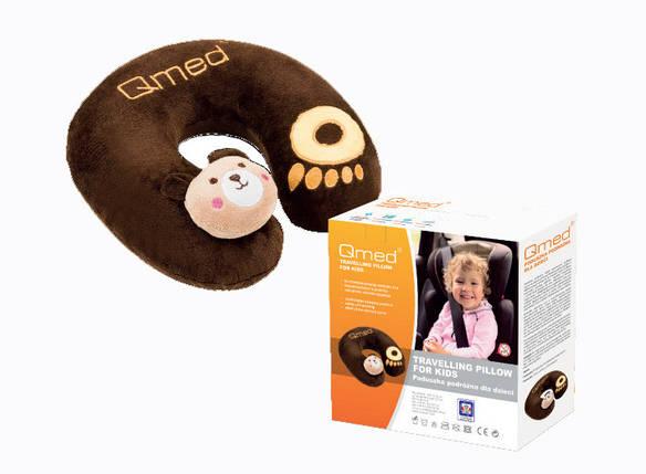 Дитяча ортопедична подушка для подорожей KID TRAVELING КМ-11, Qmed, Польща, фото 2