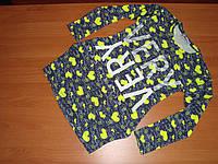 Туника с карманами для девочки размер 5 6лет