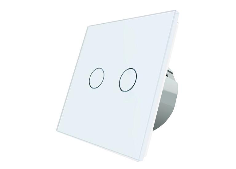 Сенсорный выключатель Livolo Two touch White