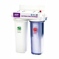 Водоочиститель под мойку 2-стадийный DUO (PU905W2-WF14-EZ) Raifil