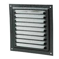 Вентиляционная решетка Vents МВМ 150х136 мм черная N30109131