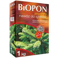 Удобрение Biopon осеннее для хвойных растений 1 кг N10506490