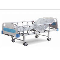 Кровать больничная E-8 в стандартной комплектации: матрас, стойка инфузионная