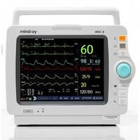 Монитор пациента iMEC8 укомплектован: TR SpO2, NIBP Adu, cab. ECG-5-lead