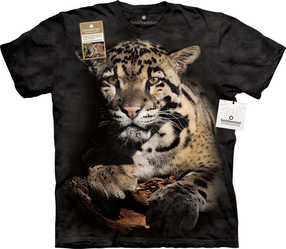 3D футболка мужская The Mountain р.S 46-48 RU футболки мужские с 3д рисунком (Дымчатый Леопард)