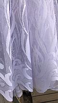 Тюль жаккард высота 1.6м ELA, фото 3