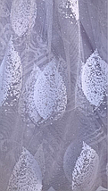 Тюль жаккард высота 1.6м SELMER, фото 2