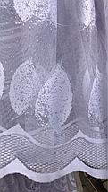 Тюль жаккард высота 1.6м SELMER, фото 3