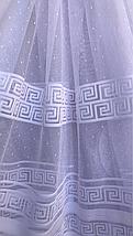 Тюль жаккард высота 1.6м BORA, фото 2