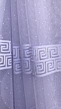 Тюль жаккард высота 1.6м BORA, фото 3