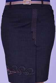 Современная женская юбка большого размера