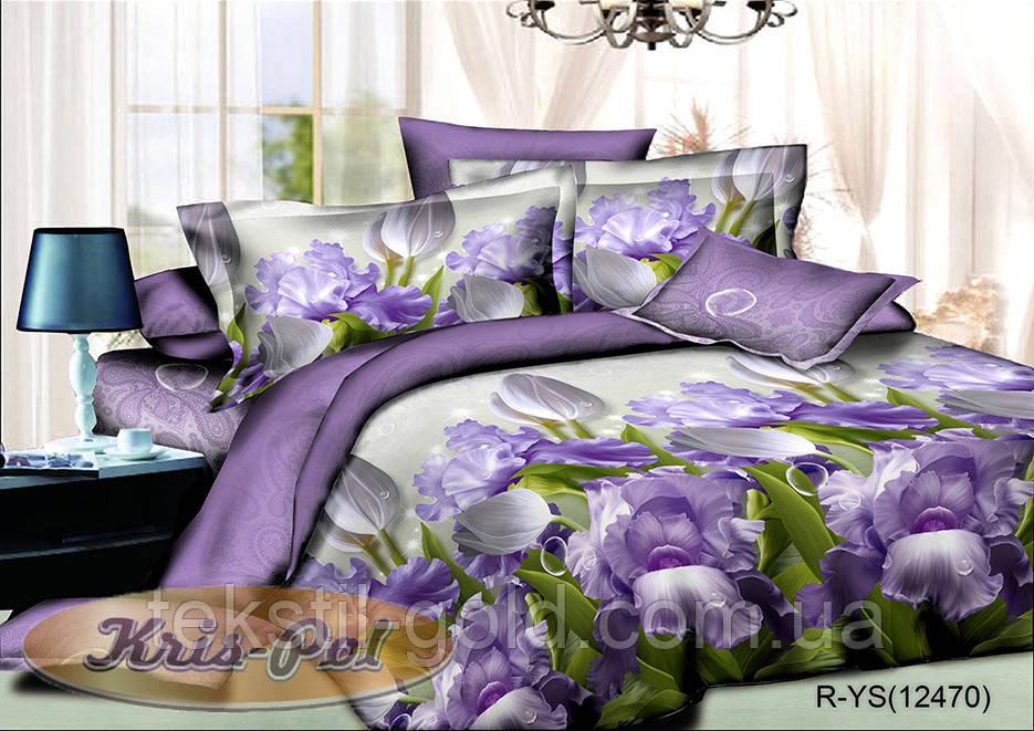 Комплект постельного белья ТМ KRIS-POL (Украина) ранфорс евро
