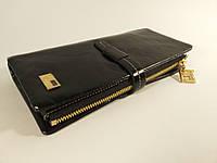 Кошелек кожаный женский JCCS 1028 черный, расцветки