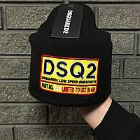 Шапка DSQUARED2 D2307 черная