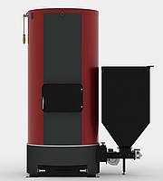 Котёл твердотопливный КВТ 0,1а с автоматической загрузкой топлива (98кВт) Денасмаш