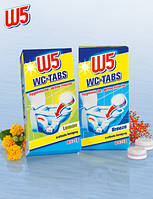 W5 Таблетки для чистки туалета 16 шт