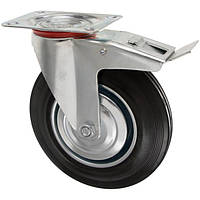 Колесо поворотное с платформой и тормозом O 100 мм N40513349