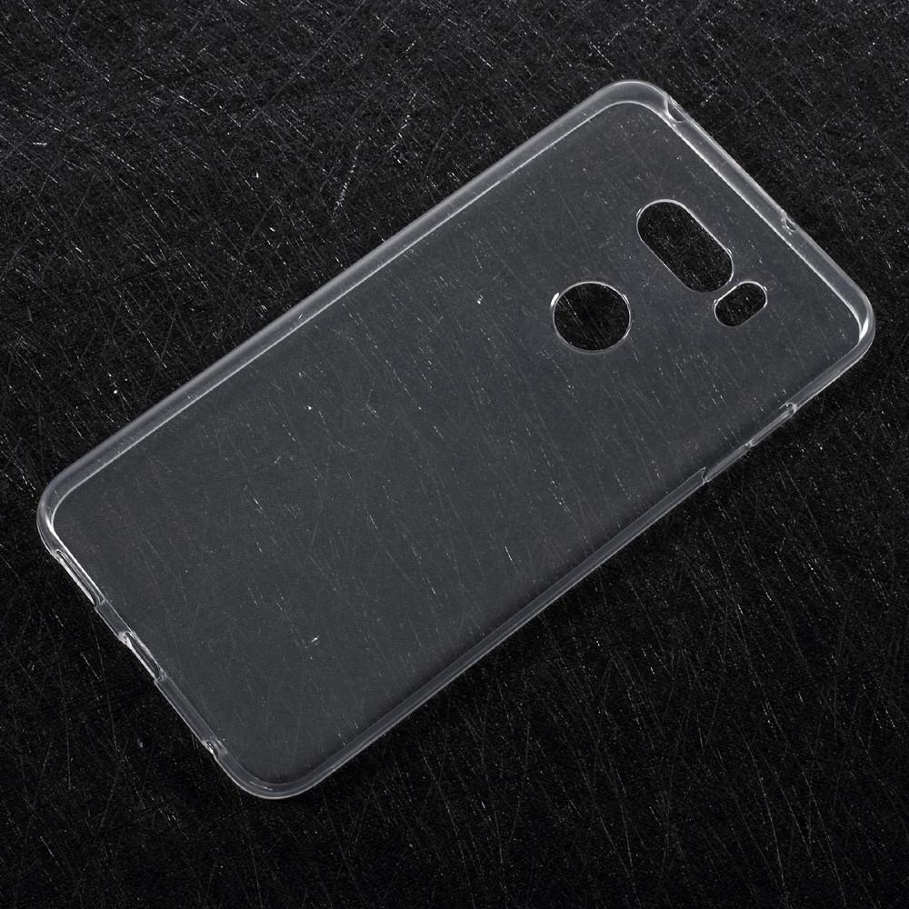 Чехол накладка для LG V30 H930 силиконовый, прозрачный