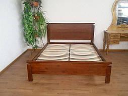 """Кровать """"Падини"""" (190*150). Массив дерева - ольха, покрытие № 11. 44"""