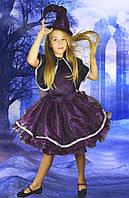 Колдунья-ведьмочка. 134-152 см. Детские карнавальные костюмы на Хэллоуин
