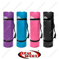 Коврик для йоги и фитнеса Power System Fitness Yoga Mat PS-4017