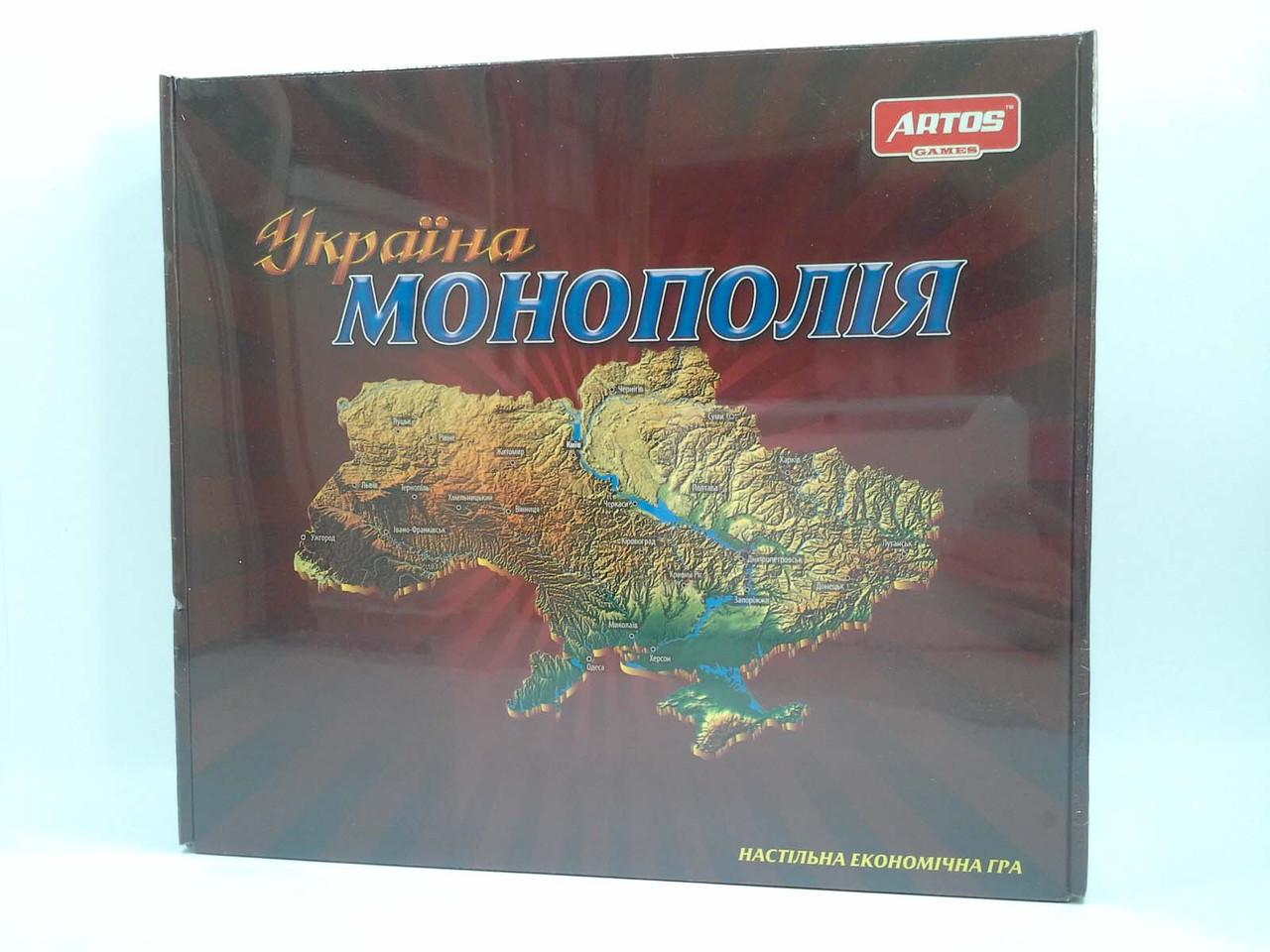Монополия Украина Настольная игра. ARTOS