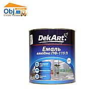 Декарт эмаль алкидная вишневая Dekart ПФ-115 (2,8кг)