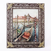 Картина панно Венеция. Причал Гранд Презент КР 907 цветная