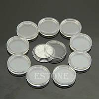 Капсулы для монет 23 мм 10 штук