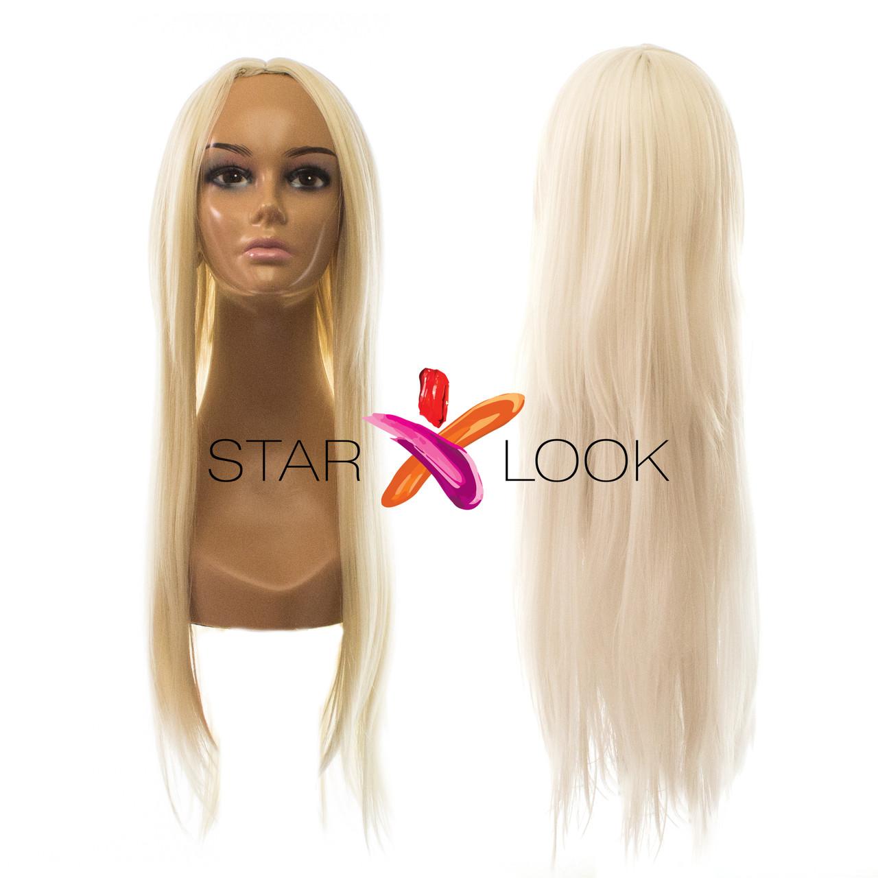 Парик блонд без челки 70 см - STARLOOK интернет-магазин косметики и аксессуаров в Киеве