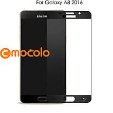 Защитное стекло Mocolo 2.5D 9H на весь экран для Samsung Galaxy A8 A810 2016 черный