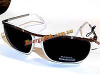 Очки Matrix поляризационные 08131 285-91-5 черные, белая оправа