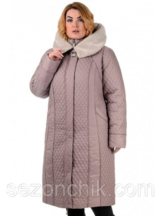 Пальто женское зимнее пуховик интернет магазин  продажа e3ebbc99f5ee8