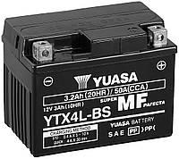 Аккумулятор для мотоцикла / скутера Yuasa YTX4L-BS