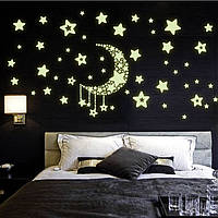 Интерьерная наклейка на стену звездное небо (Y0015)