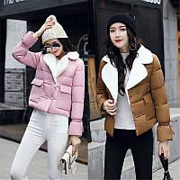 Пуховик женский - короткая версия. Зимний, теплый. Новая, стильная модель 2017 -18г.)
