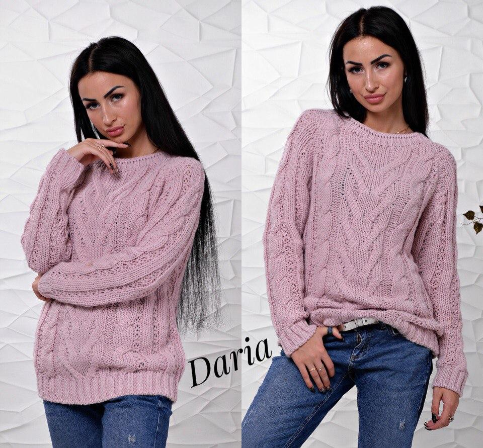 женский вязаный свитер турция в разных цветах цена 420 грн купить