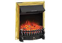 Электрокамин Royal Flame Fobos FX Brass- встраиваемый
