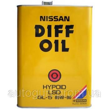 Nissan LSD GL-5 80W90 (4 л.)
