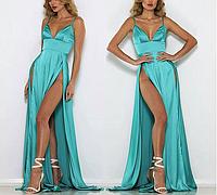 Платье шёлковое