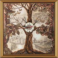 Набор для вышивания Дерево-часы