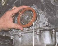 Задняя крышка сальника коленвала змз 406