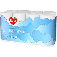 Бумага туалетная Ruta Pure White 16 шт N51311957