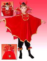 Чертенок.110-122 см.  Детские карнавальные костюмы на Хэллоуин