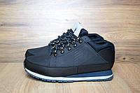 Зимние мужские ботинки New Balance 754 темно-синие мех 3099