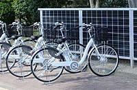 Солнечная зарядная электростанция для электровелосипеда 10 Вт. Зарядное к электровелосипеду.