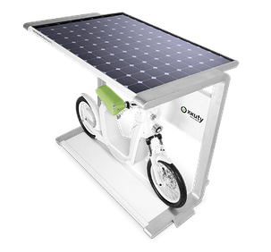 Солнечная зарядная электростанция для электровелосипеда 10 Вт. Зарядное для аккумуляторов., фото 2